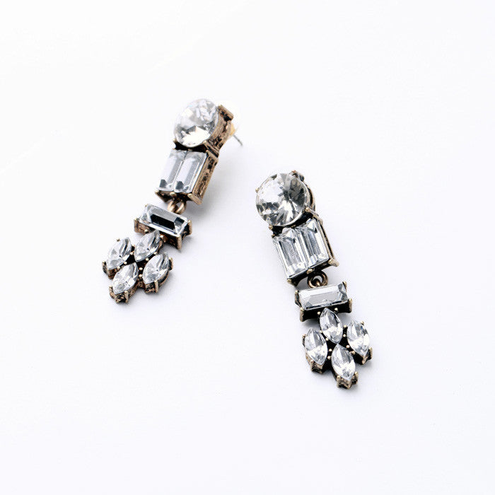Lucy Frost Earrings - Statement Earrings -   - 2