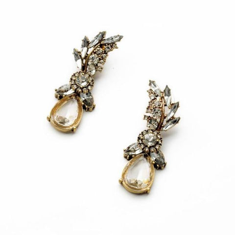 Vintage Allure Earrings - Statement Earrings -   - 3
