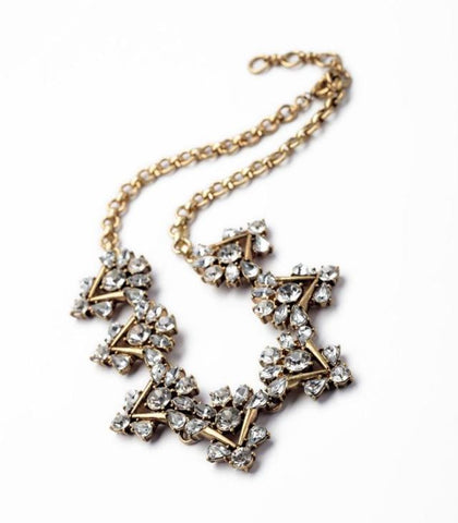 Vintage Allure Necklace - Statement Necklace -   - 3