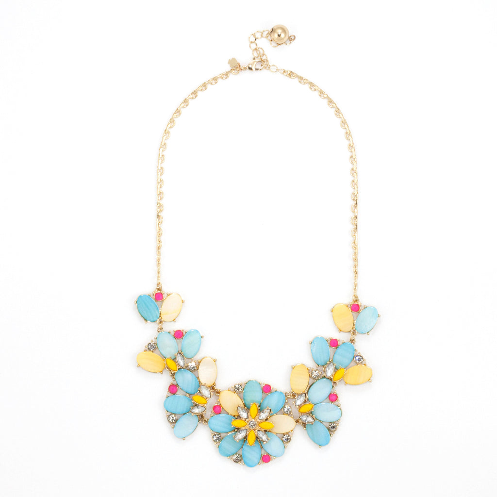 Joyful Floridale Necklace - Collar Necklace -   - 1