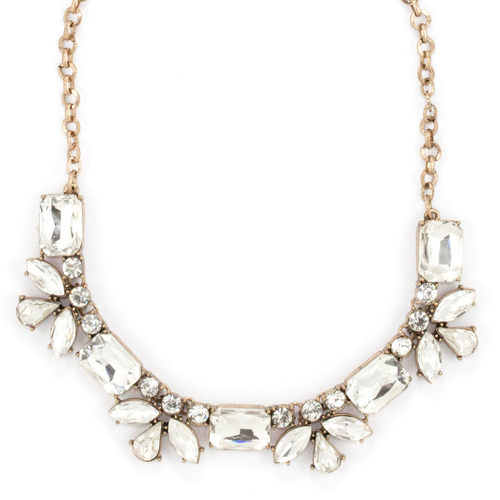 Azura Necklace - Clear - Collar Necklace -   - 2