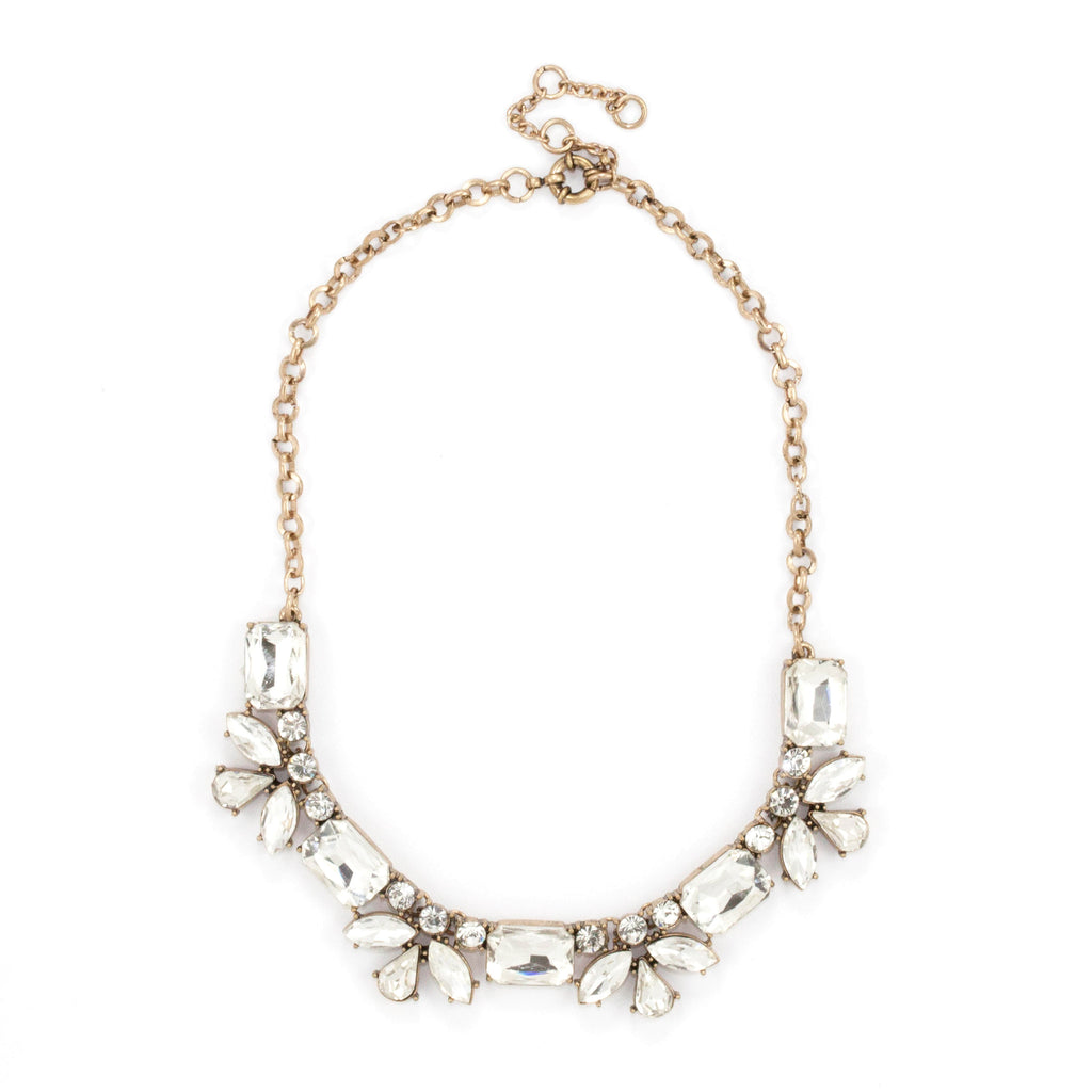 Azura Necklace - Clear - Collar Necklace -   - 1