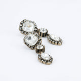 Petioly Diamond Earrings - Drop Earrings -   - 2