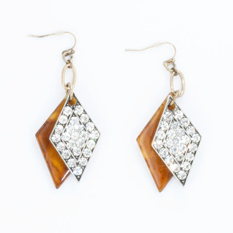 Virtuso Duo Earrings - Statement Earrings -   - 2