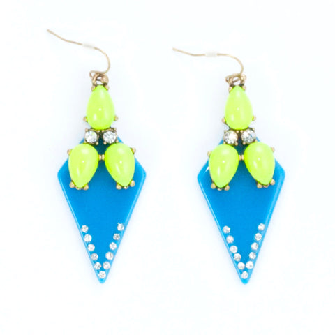 Fluoro Firefly Earrings - Drop Earrings -   - 2
