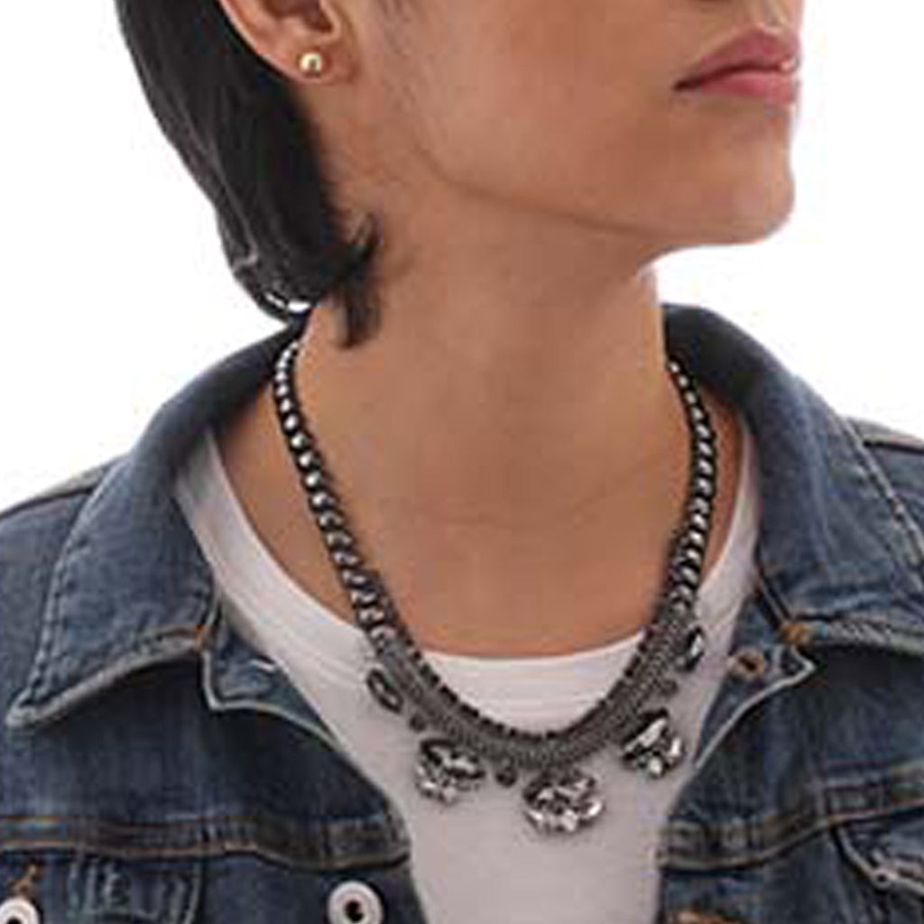 Twilight Dusk Statement Necklace - Statement Necklace -   - 3