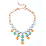 Candy Crush Necklace - Statement Necklace -   - 1