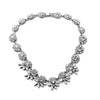 Crystal Grace Necklace - Statement Necklace -   - 1