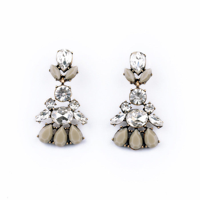 Crystal Dove Earrings - Drop Earrings -   - 1