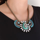 Princess Inca Necklace - Statement Necklace -   - 4