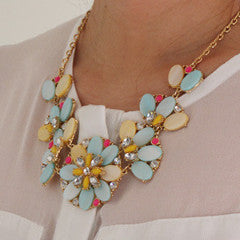 Joyful Floridale Necklace - Collar Necklace -   - 3