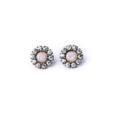 Iridescent Stud Earrings - Stud Earrings -