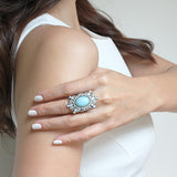 Mermaid Blue Ring - Ring -   - 3