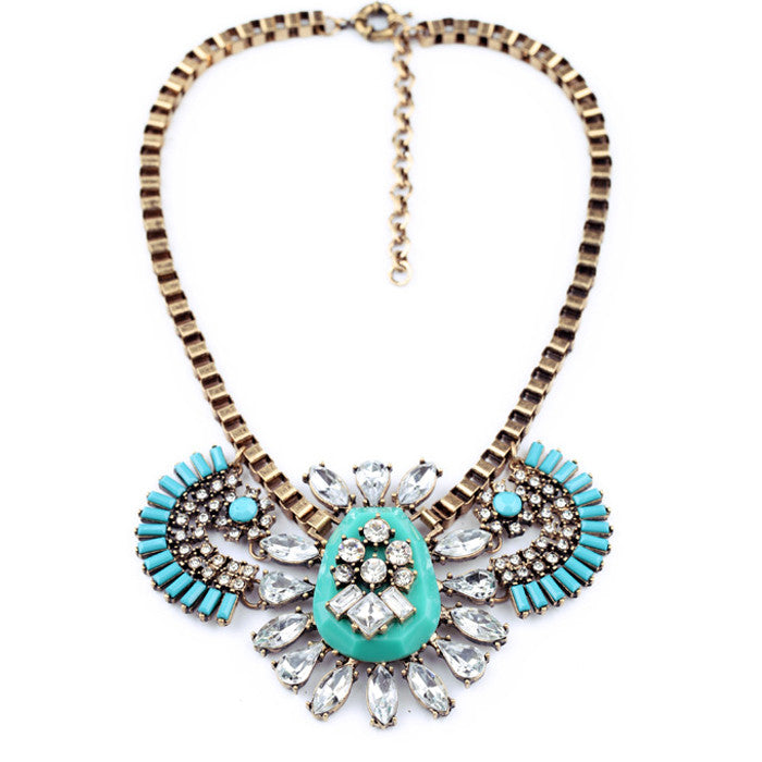 Princess Inca Necklace - Statement Necklace -   - 1