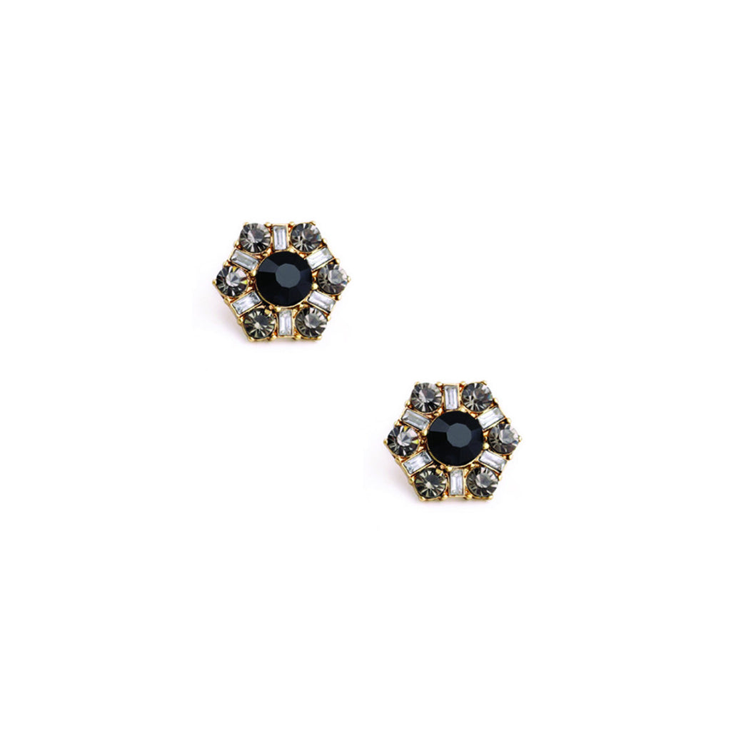 Midnight Stud Earrings - Stud Earrings -   - 1