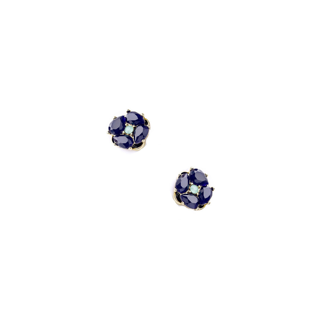 Azure Stud Earrings - Stud Earrings -   - 1