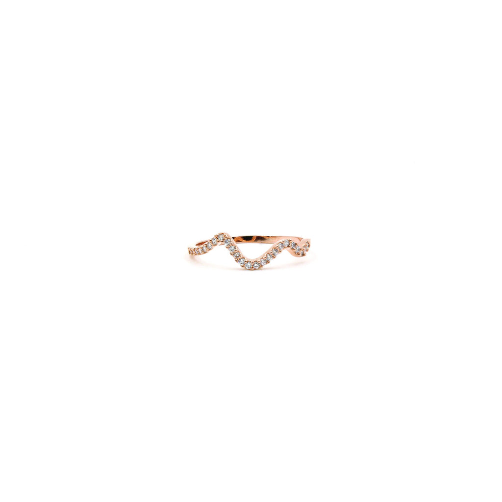 Ripple Diamante ring - Ring -   - 1