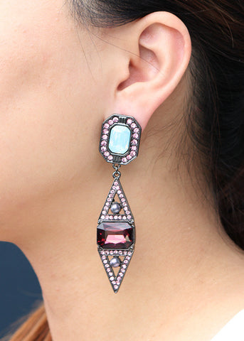Estelle Earrings - Statement Earrings -   - 3