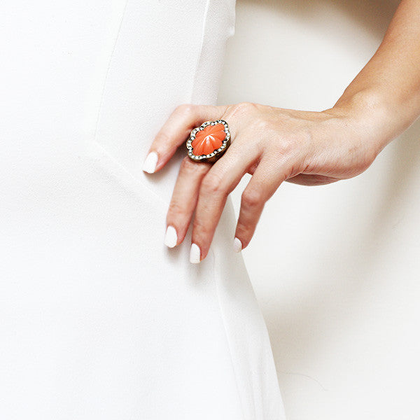 Shore cocktail ring - Ring -   - 4