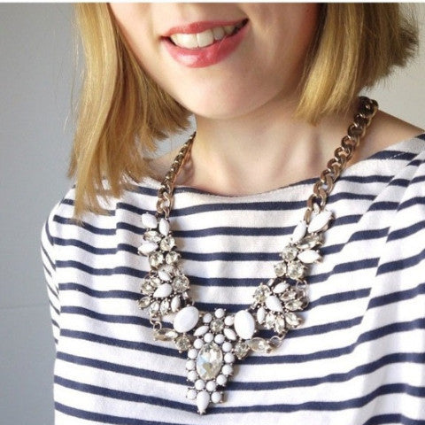 Dove Starlet Necklace - Statement Necklace -   - 3