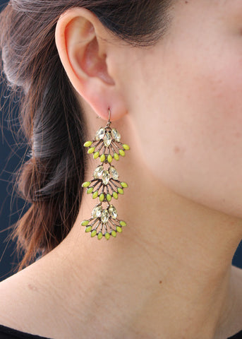 Summer Sweet Earrings - Statement Earrings -   - 3