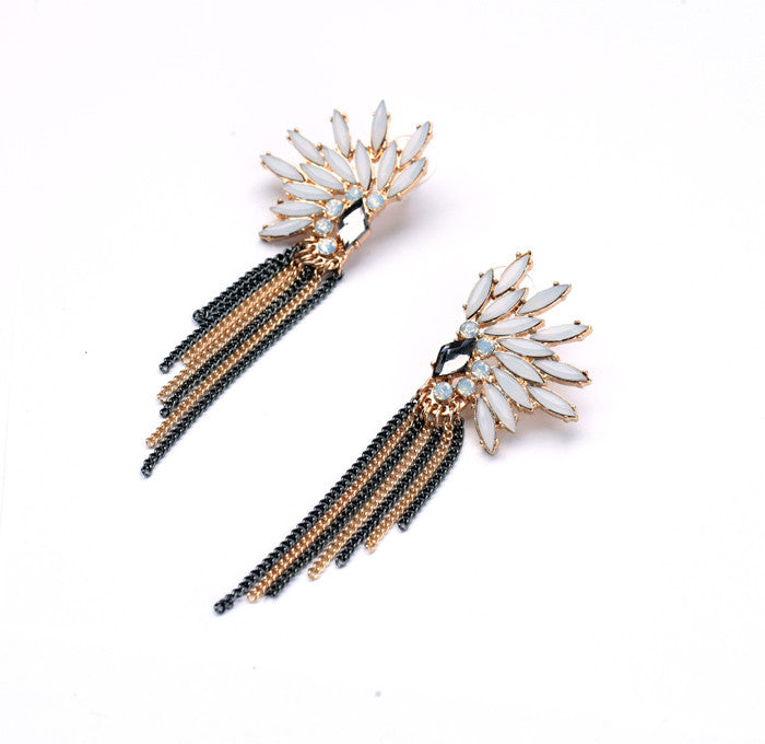 Tribal Wings Earrings - Statement Earrings -   - 2