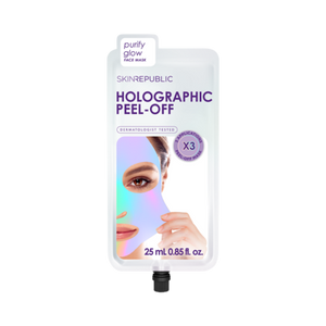 Holographic Peel Off Face Mask (3 Applications) - Lash X Artistry
