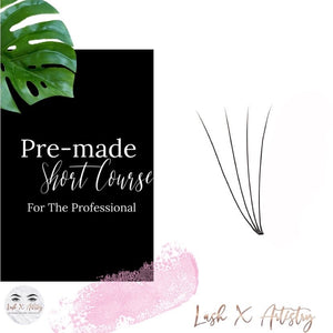 Pre-made Fans - For The Professional - Lash X Artistry