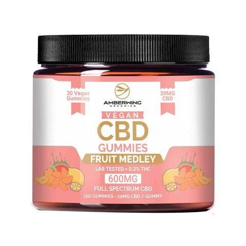 Full Spectrum Vegan CBD Gummies