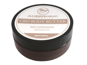 CBD Body Butter 600mg Natural
