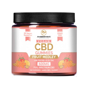 Full Spectrum Vegan CBD Gummies – Fruit Medley