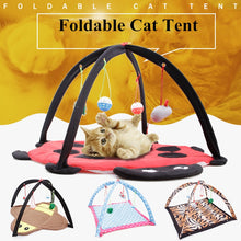 Load image into Gallery viewer, Portable Cat Activity Play Mat