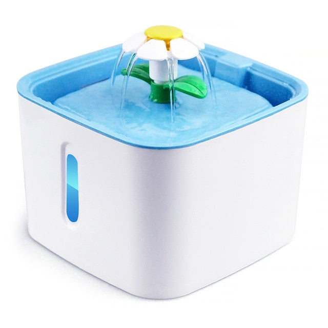 Automatic Pet Water Fountain with LED Water Level Display