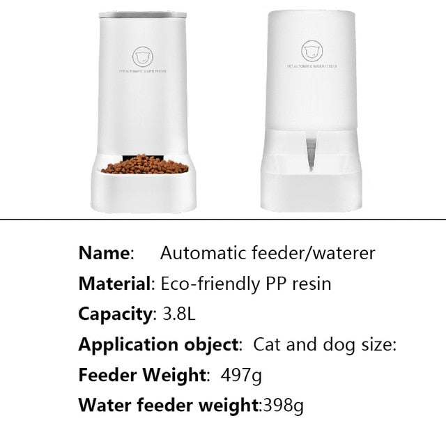 Lovefat Pet Automatic Food & Water Feeder