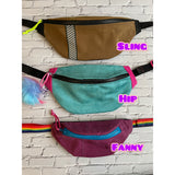 picture of three sized of Fanny Pack