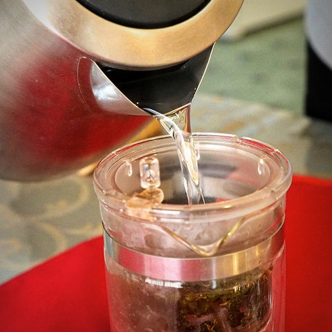 how to brew Taiwan alishan oolong tea
