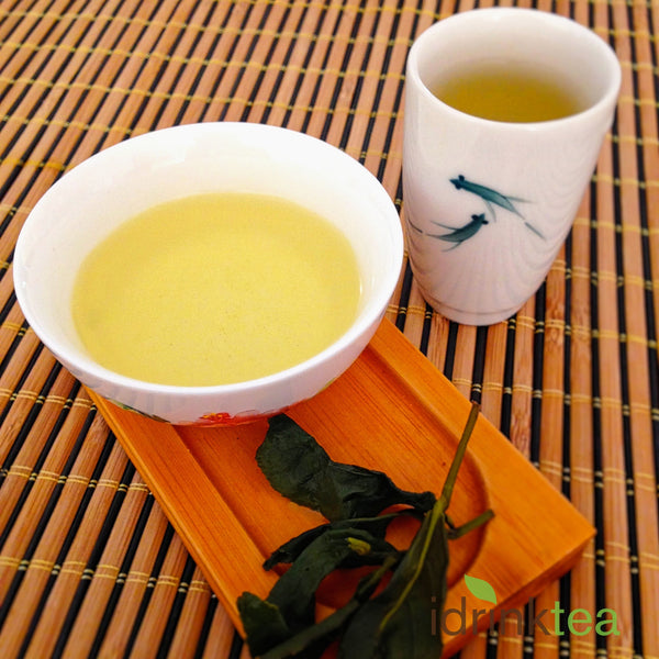 Golden yellow colour of Winter High Mountain Tea