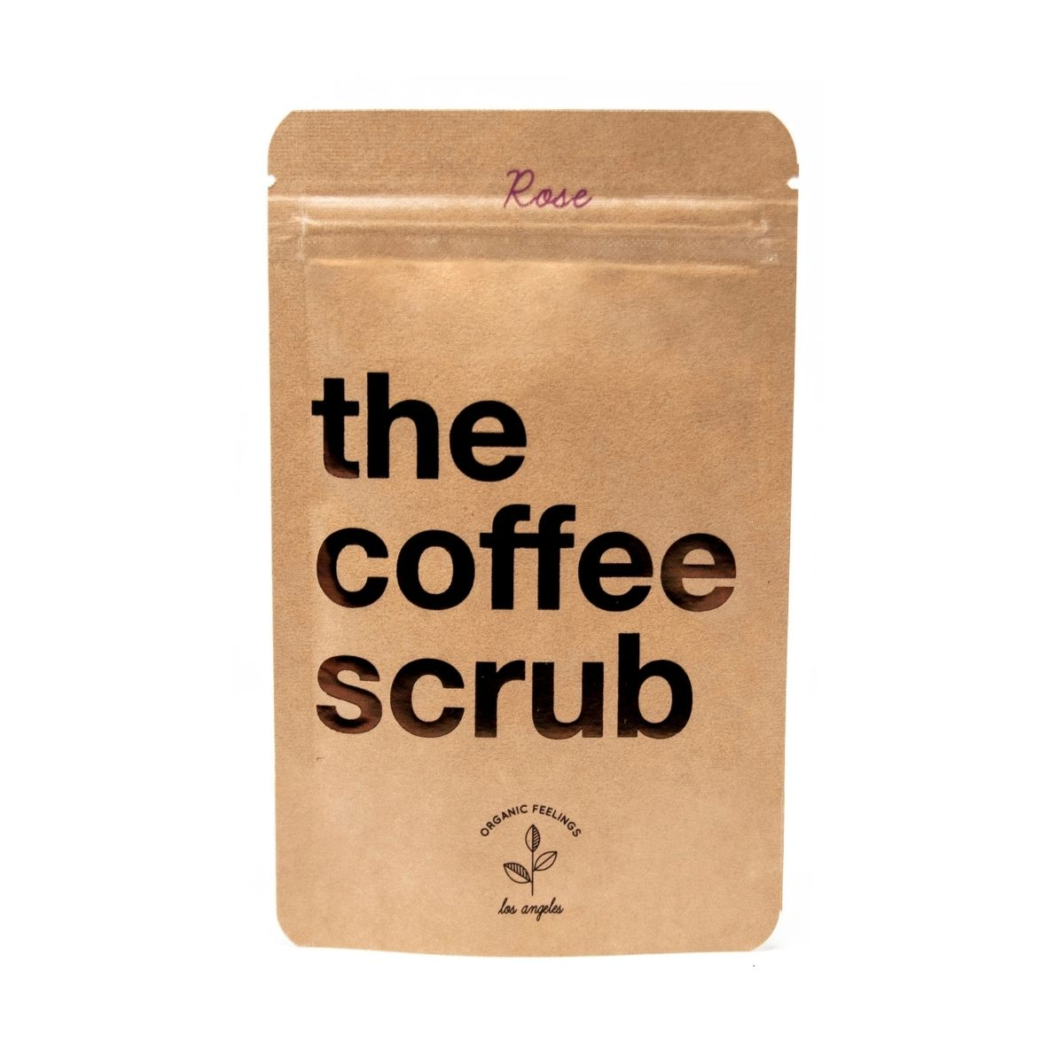 Rose Coffee Scrub (50g) - TheCoffeeScrub