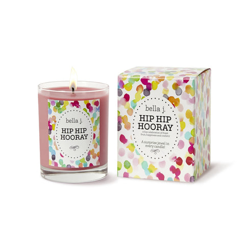 Bella J Hip Hip Hooray Candle
