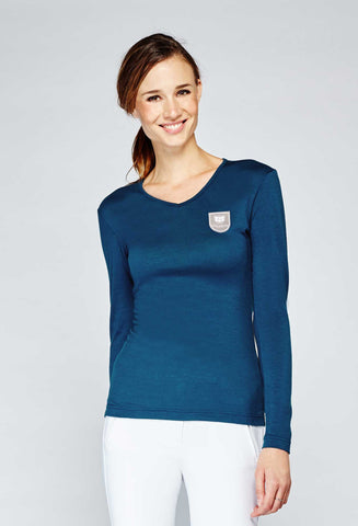 Asmar Wool Merino V Neck Sweaters