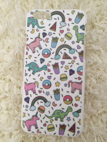 iPhone 6/6s Unicorn Donut Phone Case