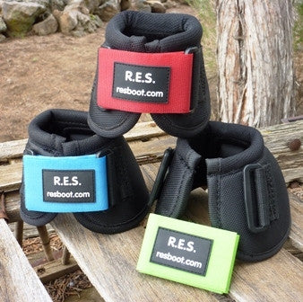 R.E.S. Bell Boots with Replaceable Velcro