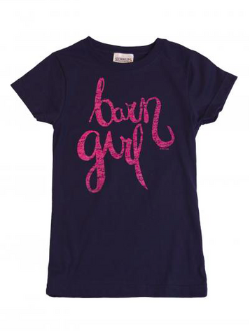Barn Girl Kids Short Sleeve
