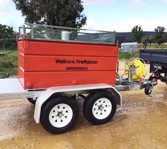 WALKERS 1400LT FIREFIGHTING TRAILER