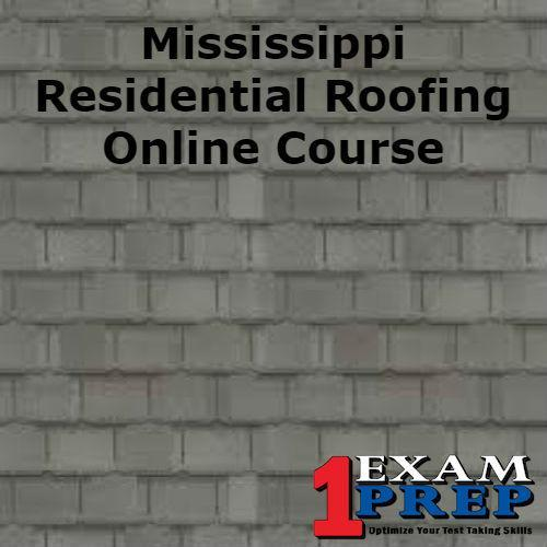 Mississippi Residential Roofing Course