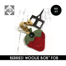Load image into Gallery viewer, Berries! Woolie Bob(TM) FOB - RED KIT