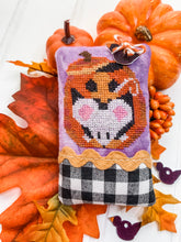 Load image into Gallery viewer, Pumpkin Party PRINT Cross Stitch Chart