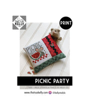 Load image into Gallery viewer, Picnic Party PRINT Cross Stitch Chart