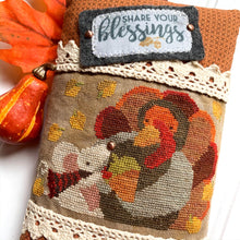 Load image into Gallery viewer, Share Your Blessings PRINT Cross Stitch Chart