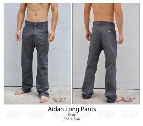 Aidan Long Pants (Khaki & Grey)